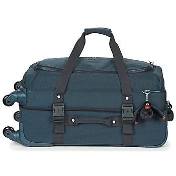 Táskák Puha bőröndök Kipling CYRAH M Tengerész