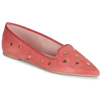 Cipők Női Balerina cipők / babák Pretty Ballerinas MAHA Rózsaszín