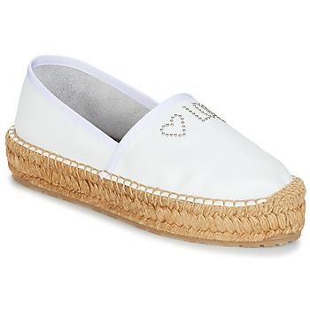 Cipők Női Gyékény talpú cipők Love Moschino JA10163G07 Fehér