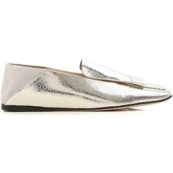 Cipők Női Mokkaszínek Sergio Rossi A77990 MFN305 8198 argento
