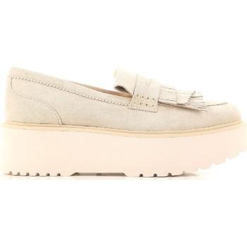 Cipők Női Mokkaszínek Hogan HXW3550AF10CR0M024 beige