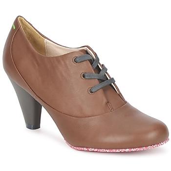 Cipők Női Bokacsizmák Terra plana GINGER ANKLE Barna