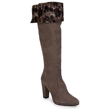 Cipők Női Városi csizmák Stuart Weitzman ZOOKEEPER Kő