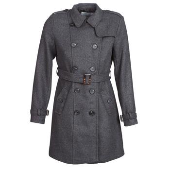 Ruhák Női Kabátok Casual Attitude HAIELLI Szürke