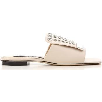 Cipők Női strandpapucsok Sergio Rossi A80380 MFN205 9179 Nudo