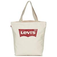 Táskák Női Bevásárló szatyrok / Bevásárló táskák Levi's Batwing Tote W Ekrü