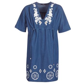 Ruhák Női Rövid ruhák Desigual ELECTRA Tengerész