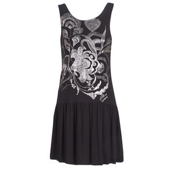 Ruhák Női Rövid ruhák Desigual OMAHAS Fekete