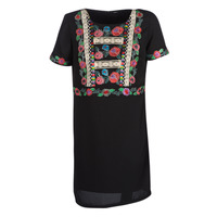 Ruhák Női Rövid ruhák Desigual TRALEE Fekete