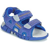 Cipők Fiú Sportszandálok Mod'8 TRIBATH Kék