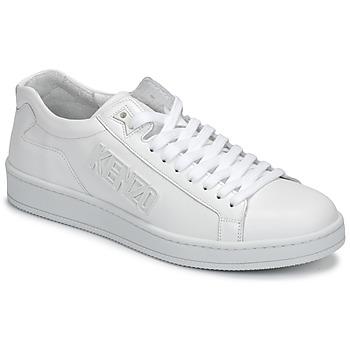 Cipők Férfi Rövid szárú edzőcipők Kenzo TENNIX Fehér