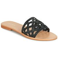Cipők Női Papucsok Jonak WEB Fekete