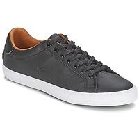 Shoes Női Rövid szárú edzőcipők Lacoste GRAD VULCUS Fekete