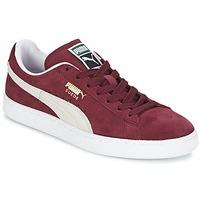 Cipők Rövid szárú edzőcipők Puma SUEDE CLASSIC Piros / Fehér
