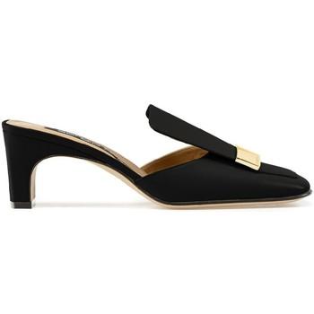 Cipők Női strandpapucsok Sergio Rossi A78000MNAN07110_1000 nero