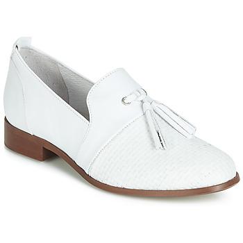 Cipők Női Oxford cipők Regard REVA V1 TRES NAPPA BLANC Fehér