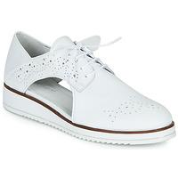 Cipők Női Oxford cipők Regard RIXAMU V1 NAPPA BLANC Fehér