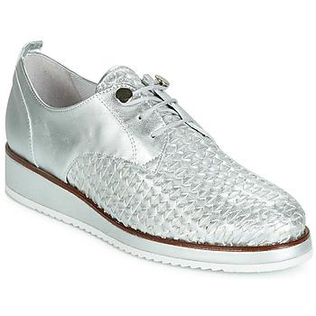 Cipők Női Oxford cipők Regard RIXIZA V2 TRES METALCRIS PLATA Ezüst