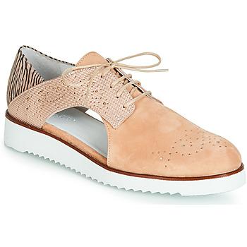 Cipők Női Oxford cipők Regard RIXULO V1 VEL ROSE Rózsaszín