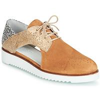 Cipők Női Oxford cipők Regard RIXULO V3 VEL CAMEL Barna