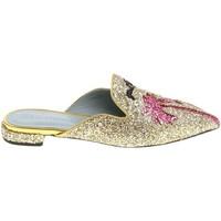 Cipők Női Klumpák Chiara Ferragni CF1842 GLITTER ORO oro