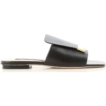 Cipők Női strandpapucsok Sergio Rossi A80380 MNAN07 1000 nero