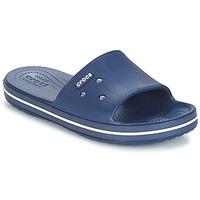 Cipők strandpapucsok Crocs CROCBAND III SLIDE Tengerész / Fehér