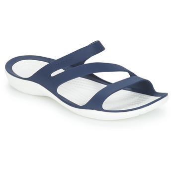 Cipők Női strandpapucsok Crocs SWIFTWATER SANDAL W Tengerész