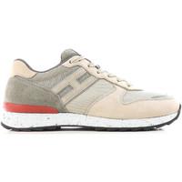 Cipők Férfi Rövid szárú edzőcipők Hogan HXM2610R676IHY0PD5 beige