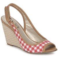 Cipők Női Szandálok / Saruk StylistClick INES Júdás / Természetes / Piros