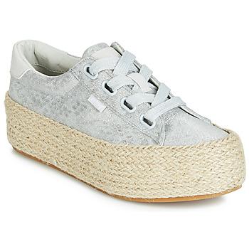Cipők Női Rövid szárú edzőcipők MTNG WANDA Ezüst