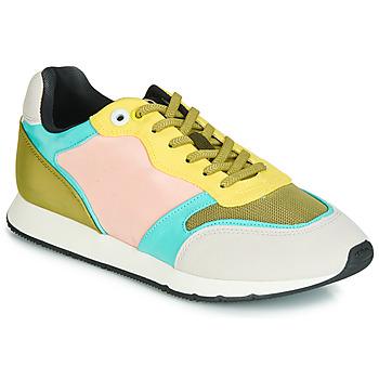 Cipők Női Rövid szárú edzőcipők MTNG HANNA Rózsaszín / Citromsárga / Türkiz