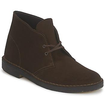 Shoes Férfi Csizmák Clarks DESERT BOOT Barna