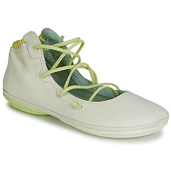 Cipők Női Balerina cipők  Camper RIGHT NINA LACE Bézs