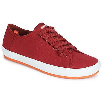 Cipők Női Oxford cipők Camper PEU RAMBLA VULCANIZADO Piros