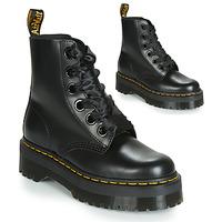 Cipők Női Csizmák Dr Martens Molly Fekete