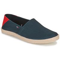 Cipők Férfi Gyékény talpú cipők Tommy Hilfiger GRANADA 2D Tengerész