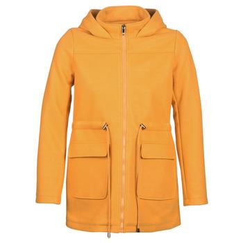 Ruhák Női Kabátok Moony Mood JANTO Citromsárga