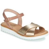 Cipők Női Szandálok / Saruk Casual Attitude JALAYEDE Rózsaszín / Arany