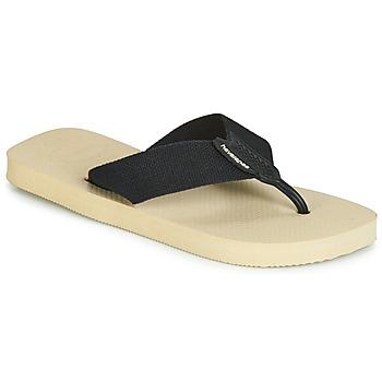 Cipők Férfi Lábujjközös papucsok Havaianas URBAN BASIC Bézs