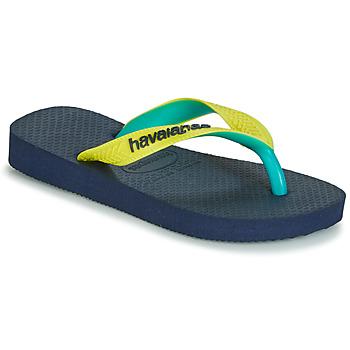 Cipők Lábujjközös papucsok Havaianas TOP MIX Citromsárga