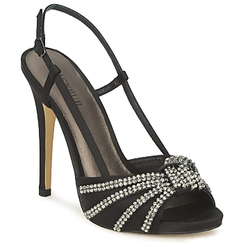 Cipők Női Szandálok / Saruk Menbur ACER Fekete