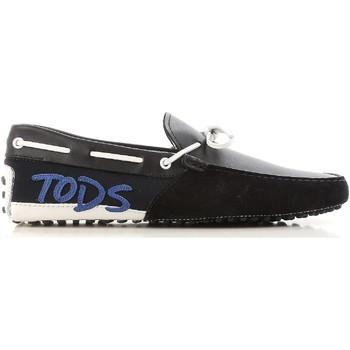 Cipők Férfi Mokkaszínek Tod's XXM0GW0X900IUP0XQE nero