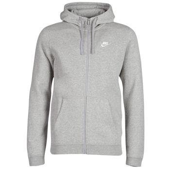 Ruhák Férfi Pulóverek Nike MEN'S NIKE SPORTSWEAR HOODIE Szürke