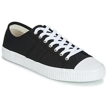 Cipők Férfi Rövid szárú edzőcipők Jim Rickey TROPHY Fekete  / Fehér