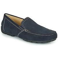 Cipők Férfi Mokkaszínek Geox MONET Kék