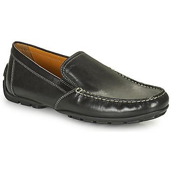 Cipők Férfi Mokkaszínek Geox MONET Fekete