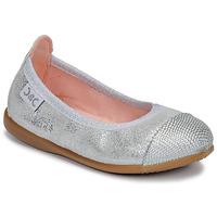Cipők Lány Balerina cipők / babák Citrouille et Compagnie JARAMIL Ezüst