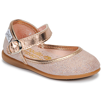 Cipők Lány Balerina cipők  Citrouille et Compagnie JARITO Rózsaszín / Bronz