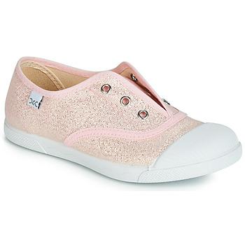 Cipők Lány Rövid szárú edzőcipők Citrouille et Compagnie JANOLIRE Rózsaszín / Fémes